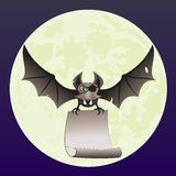 'bat' de pirate Image stock