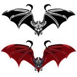 'bat' de vampire illustration stock