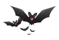 'bat' de vampire de Veille de la toussaint avec des crocs Images libres de droits