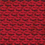 Bat flying, Halloween Pattern with grunge background Stock Image