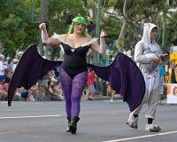 Bat girl Stock Images