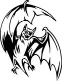 Bat - Halloween Set - vector illustration Royalty Free Stock Photos