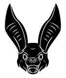 Bat head Royalty Free Stock Photo
