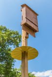 Bat House. S benefit bats, you, your family, communities, farmers, gardeners and the ecosystem as a whole Royalty Free Stock Photography