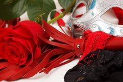 Bat i róża zdjęcia royalty free