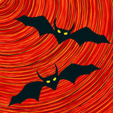 Bat icon Royalty Free Stock Images