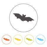 Bat icon Stock Photo