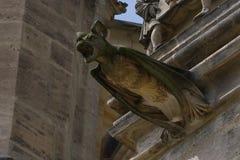Bat keeper. St. Barbara`s Church - Bat keeper . Kutná Hora. Czech Republic royalty free stock image