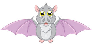 'bat' mignonne illustration de vecteur