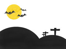 Bat moon halloween festival Stock Photography