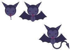 'bat' ont illustré illustration libre de droits