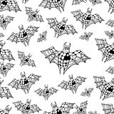 Bat pattern Stock Photo