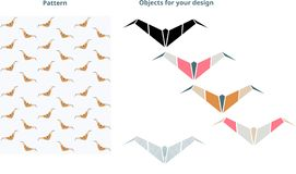 Bat pattern. Perfect for your design. vector illustration