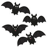 Bat set Stock Images