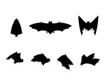 Bat silhouettes Stock Image