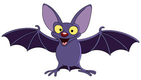 Bat with spread wings Royalty Free Stock Image