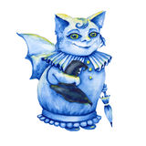 Bat. a stand-alone sketch animation. the symbol of Halloween. wa Stock Photography