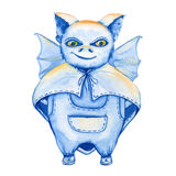 Bat. a stand-alone sketch animation. the symbol of Halloween. wa Royalty Free Stock Photography