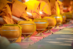 Bat -  Traditional Thai religion style. Royalty Free Stock Images