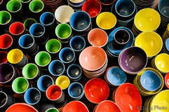 Bat Trang Ceramic. Trade Village is located in North of Vietnam stock photography