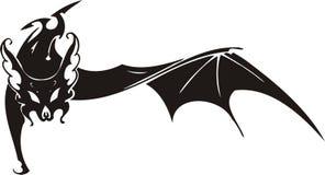 'bat' tribale 4. illustration de vecteur