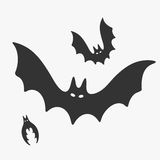Bat Vector illustration Royalty Free Stock Photos