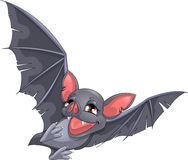 Bat. On a white background stock illustration