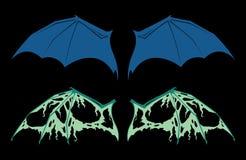 Bat Wings Royalty Free Stock Photos