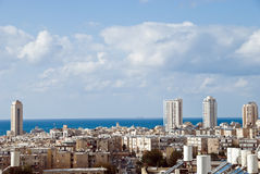 Bat Yam. Landscape of Bat Yam (Israel Royalty Free Stock Photos