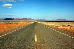 Bata a estrada Imagem de Stock