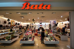 Bata fashion shoes store Stock Photography
