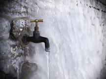 Bata na parede congelada Imagens de Stock Royalty Free
