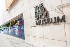 Bata Shoe Museum i Toronto, Kanada Arkivfoto