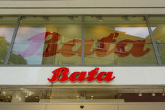 Bata store Royalty Free Stock Photography