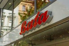 Bata store stock photography