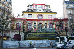 Bataclan Café Building Paris Stock Images