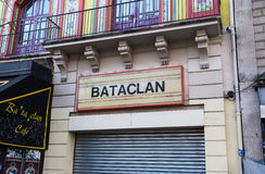 The Bataclan Theatre Royalty Free Stock Images