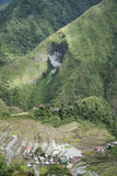 Batad mountain rice terraces luzon philippines Royalty Free Stock Photography