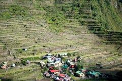 Batad-Reisterrassen, Banaue, Ifugao, Philippinen stockfotografie