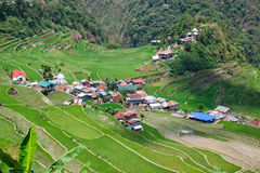 Batad rice field terraces, Ifugao province, Banaue, Philippines Royalty Free Stock Photos