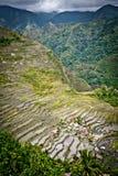 Batad rice paddies at ifugao Royalty Free Stock Photography