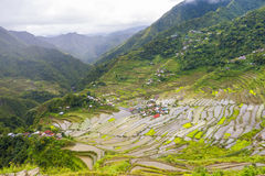 Batad Rice Terraces Philippines royalty free stock images