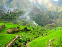 Batad Rice Terraces Village 3 Royalty Free Stock Photos