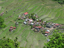 Batad village Royalty Free Stock Photos
