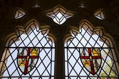 Bataille Abbey Coat des bras photos libres de droits