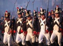Bataille chez Austerlitz 2009 Photos stock