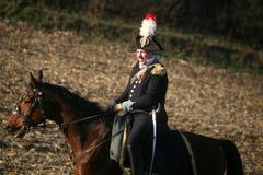 Bataille chez Austerlitz 2009 Image libre de droits