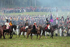 Bataille de Borodino Photos stock