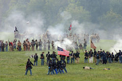 Bataille de la côte GA de tunnel Photos stock