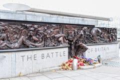 Bataille de mémorial de guerre de Grande-Bretagne Images libres de droits